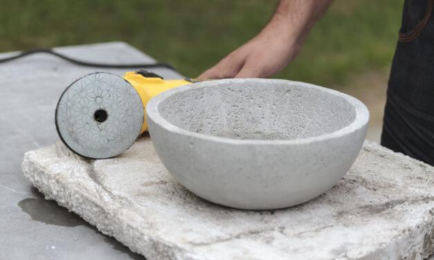 L'artisanat du béton : créez vos propres articles !